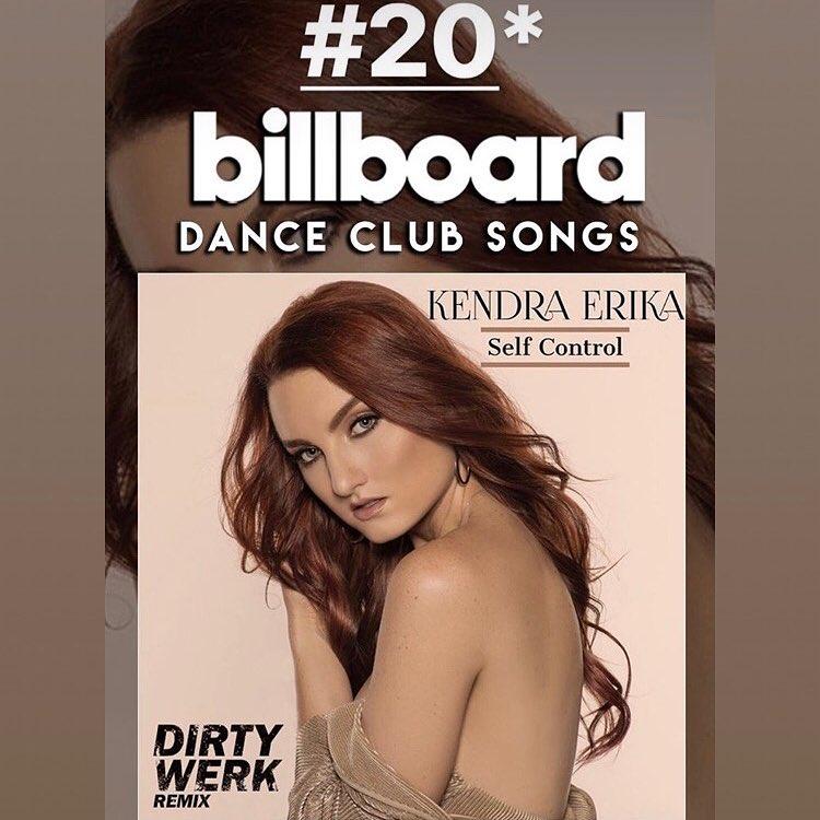 Uncontrollable 👏🏼😂 Thank you @dirtywerkmusic @billboard @billboarddance #billboardmagazine #top20 #selfcontroltour #remix
